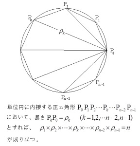 正n多角形の定理